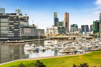 Some of the Best Views in Docklands!