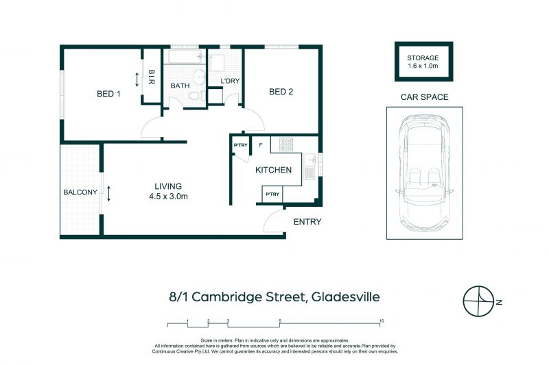 8/1-3 Cambridge Street Gladesville 2111