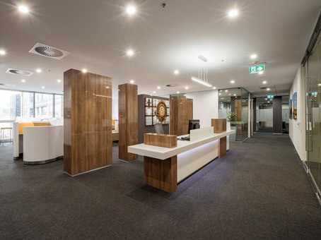 Stunning offices at the Paris-end of Collins St
