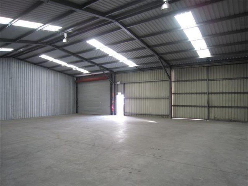 Warehouse Close to Main Road