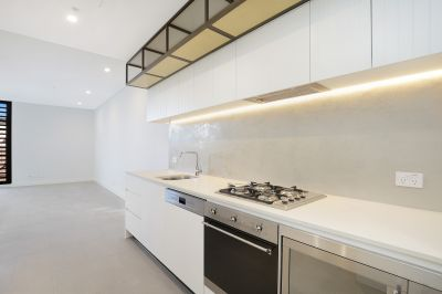 Stylish living in the community-oriented Merrick & Co building
