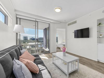 FULLY FURNISHED One Bedroom Apartment Plus Multi Purpose Room! - Stylish, Modern & Convenient