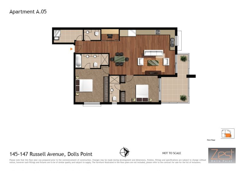 A05/145 Russell Ave DOLLS POINT 2219