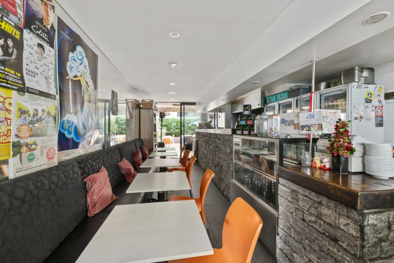 Walk in and start operating. Fully fitted Cafe restaurant with liquor licence on bustling Crown Street. ***LEASED***