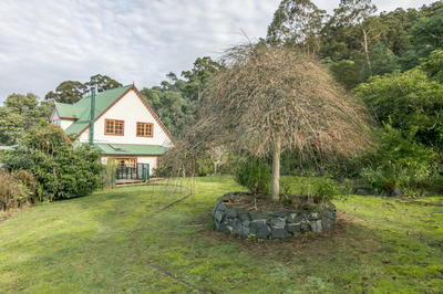 Beautiful Country Tudor Style Home on 55 Acres
