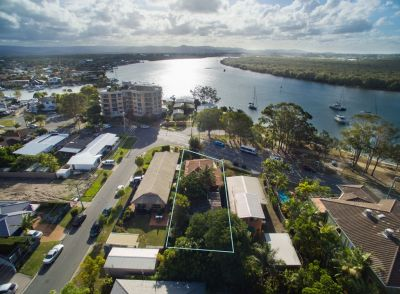 Prime Riverfront Dual Living Home Zoned for Development