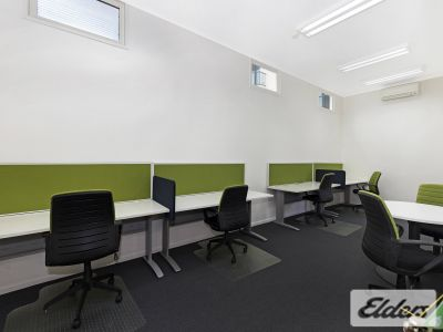 OUTSTANDING CHARACTER OFFICE WITH 5 CAR PARKS!