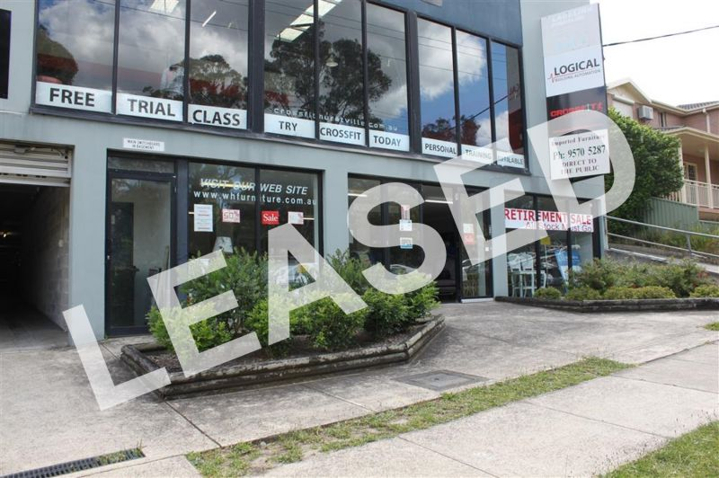 LEASED BY KYLE DEWEY - 118m² Showroom Space on Roberts Avenue