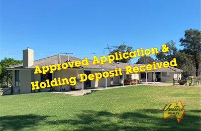 APPLICATION APPROVED - HOLDING DEPOSIT RECEIVED!