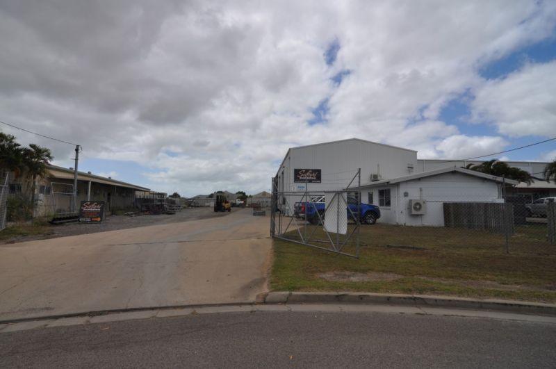 Large Warehouse and Yard