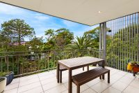 Leafy Two Bedroom with Oversize Balcony and Views
