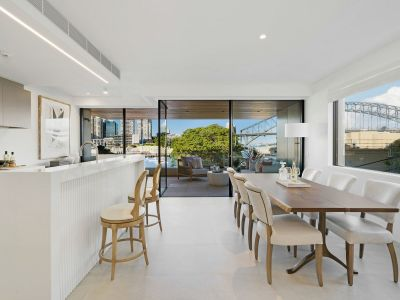 Architectural masterpiece with iconic harbour views
