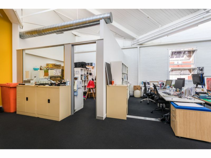 Modern Office Space in Character Woolstore Building