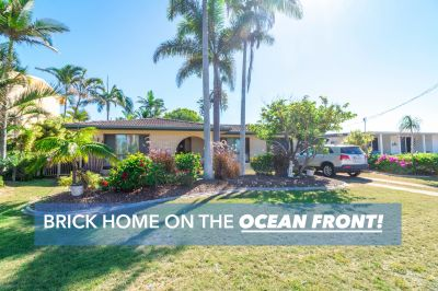 ABSOLUTE OCEAN FRONT BRICK HOME!! - $339,000!!