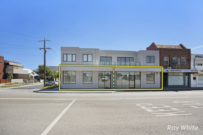 TWO BRAND-NEW RETAIL / OFFICE PREMISES WITH 10m* OF NEPEAN HWY FRONTAGE