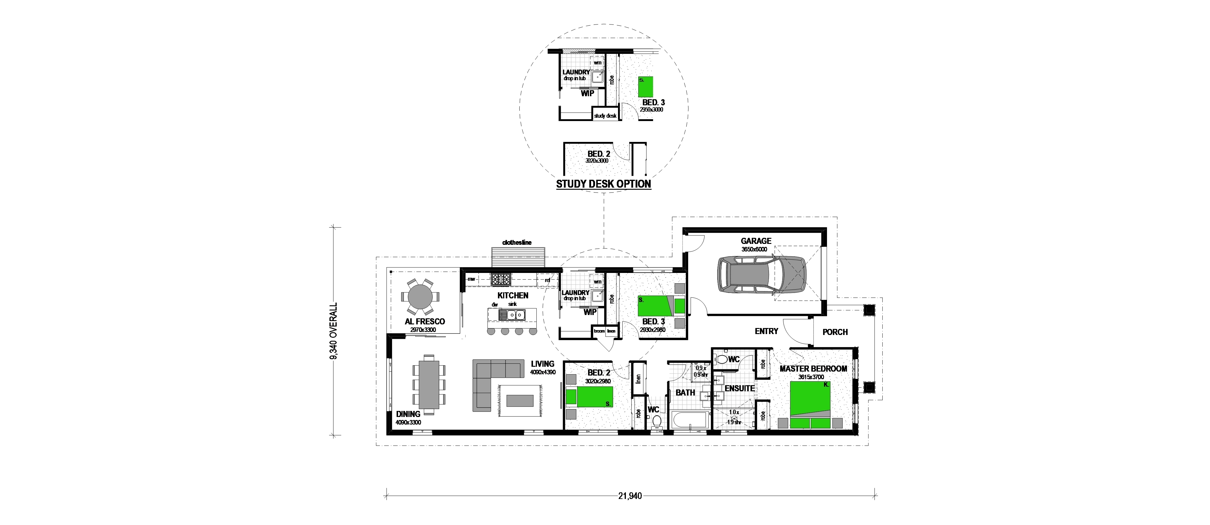 LOT 107 PIANTA STREET GREENVALE Floorplan