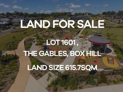Box Hill, Lot 1601  Cataract Road