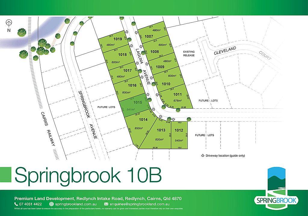 Lot 1015 Laguna Avenue, Redlynch QLD 4870