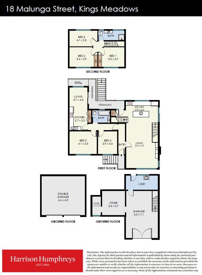 18 Malunga Street Floorplan