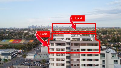 FOR SALE: 1 LOT AIRSPACE | 1 LOT 9 APARTMENTS