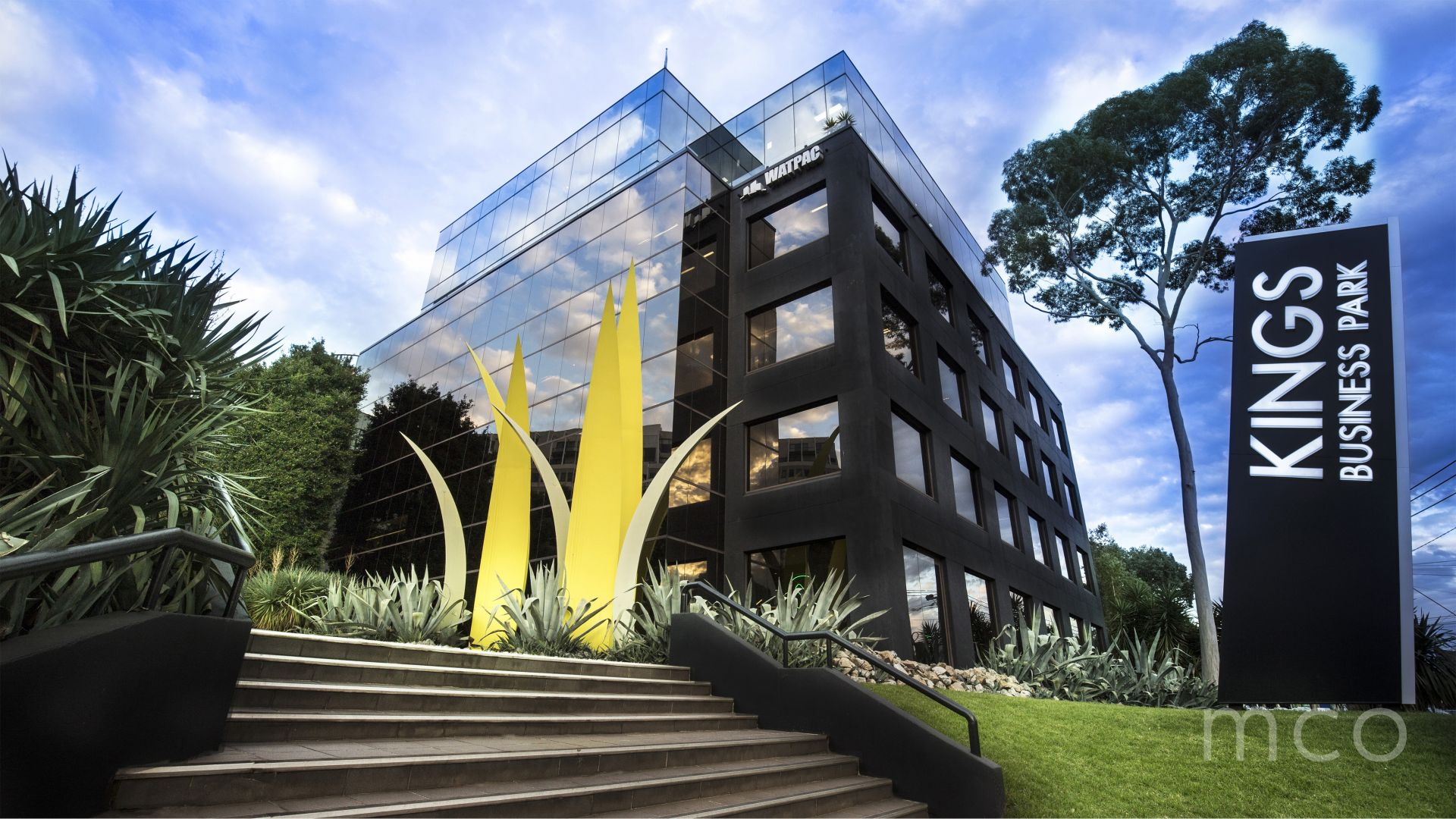Spacious leasing opportunity at the exclusive Kings Business Park