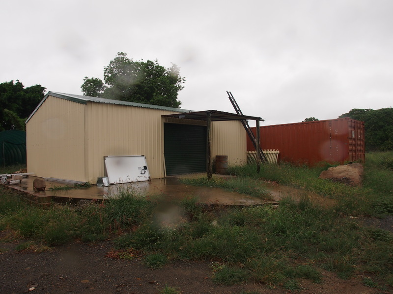 2 Sheds on a 6,080m2 block