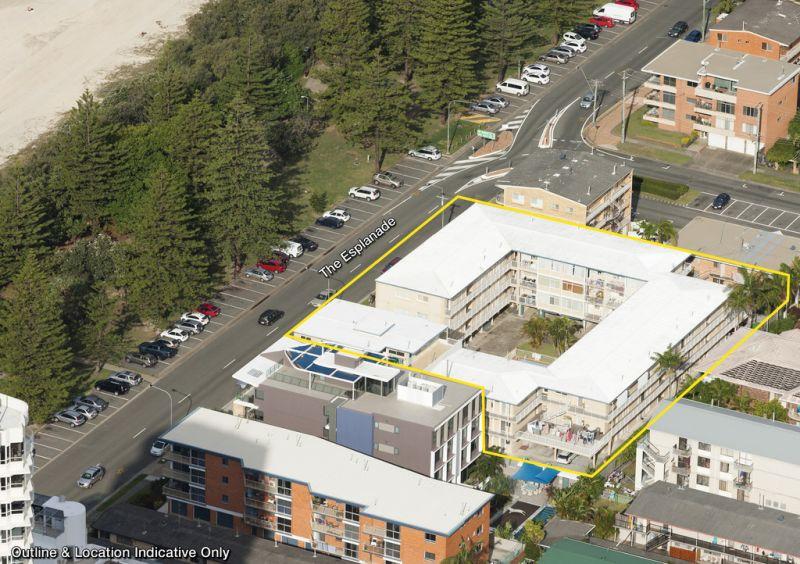 Burleigh Beachfront — 3,035m2* Highrise Development Site