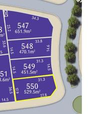 Lot 550 Stonecutters Stonecutters Ridge Colebee, Nsw
