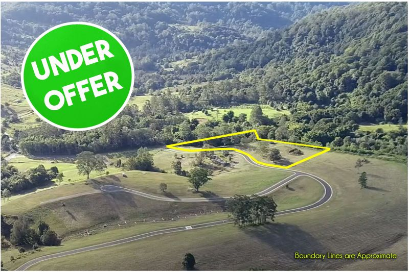 UNDER OFFER! NIMBIN'S NIGHTCAP VISTAS LAND RELEASE - Lot 8