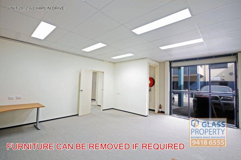 Light & Bright Corner Office & Technical/Storage Unit - 161m2