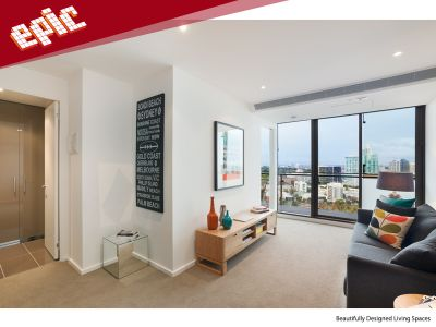 EPIC 11th floor - Enjoy the Best of Southbank Living in this Modern One Bedroom Apartment!