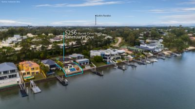 Master Built Waterfront Home with Exceptional Privacy