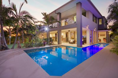 Waterfront Masterpiece in Luxury Estate with Direct Ocean Access