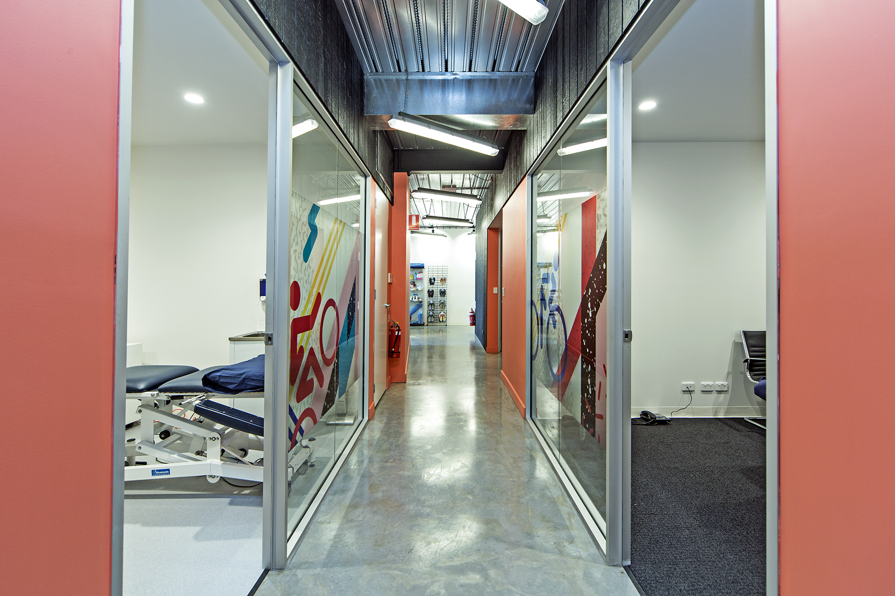 Brand New and First Class Health Suites