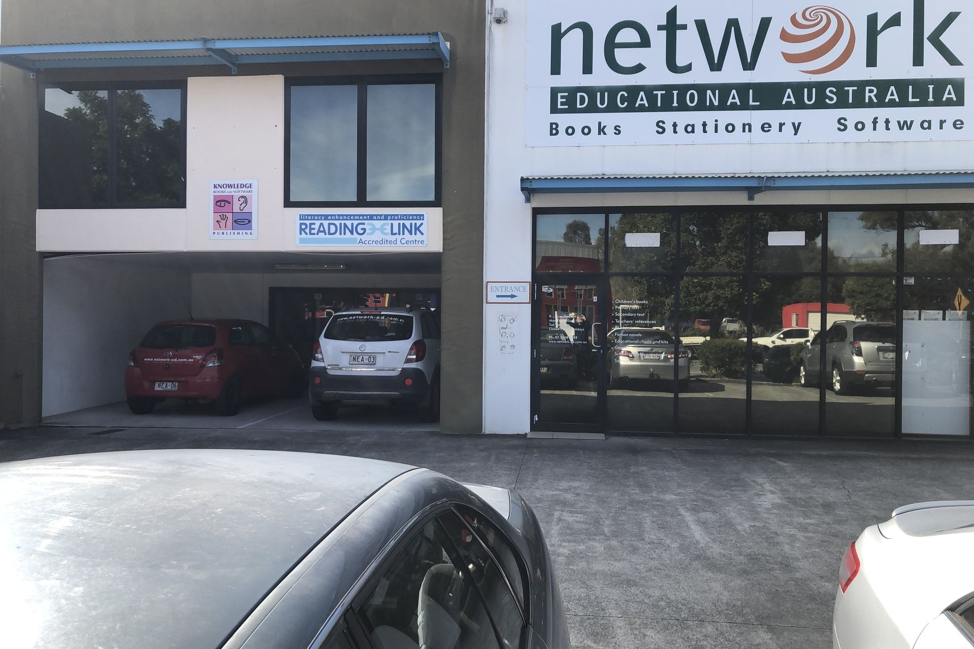 Prominent well-presented showroom and office