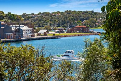 Boutique waterfront townhouse on Birchgrove's finest street
