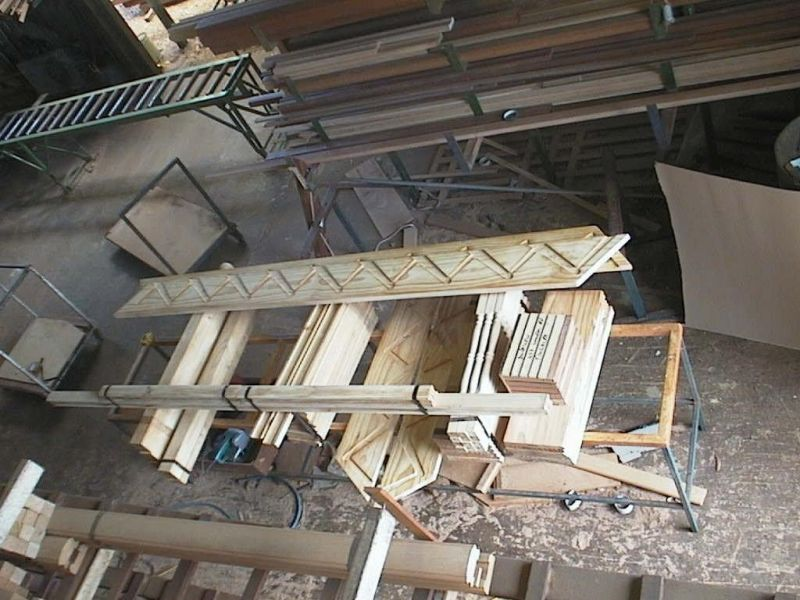 Timber Staircase Factory pre - cuting and flat packing  for over 28 years