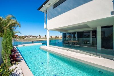 SPECTACULAR FAMILY HOME WITH BROADWATER VIEWS
