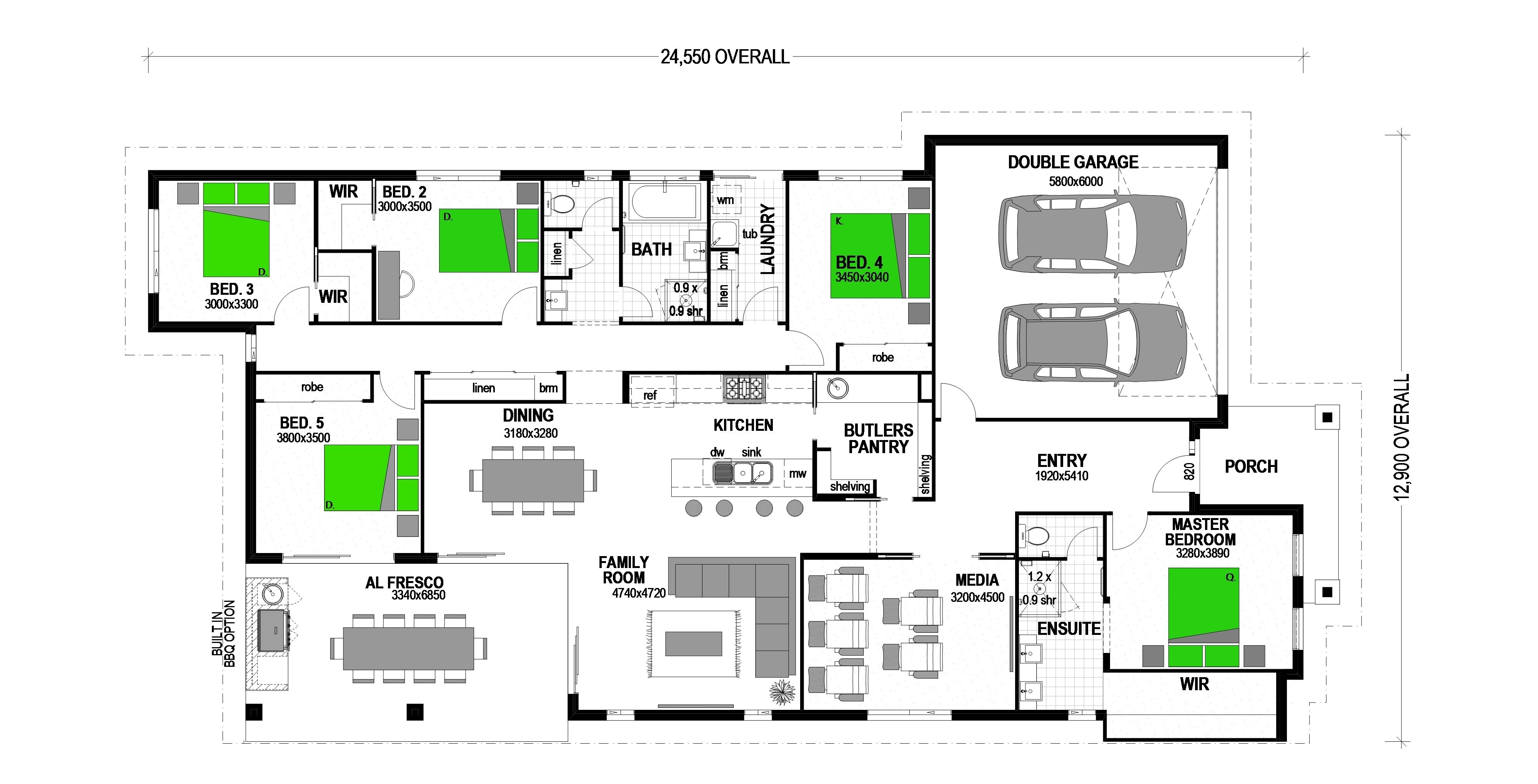 9 MINERAL COURT DROUIN Floorplan