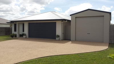 Executive Home with a Fair Dinkum Shed.