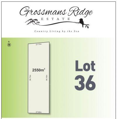 Lot 36/460 Grossmans Road Road, BELLBRAE