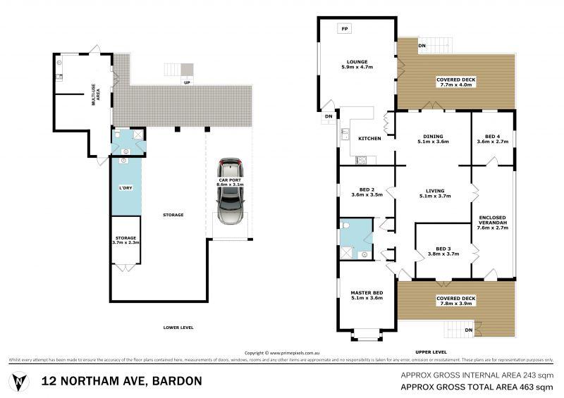 12 Northam Avenue Bardon 4065