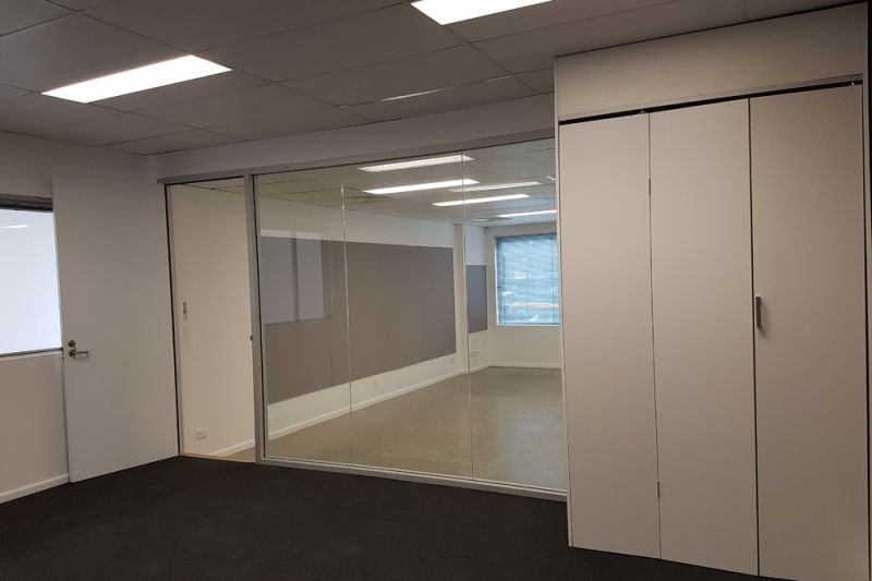 Elegant Office Fitout + High Clearance Warehouse