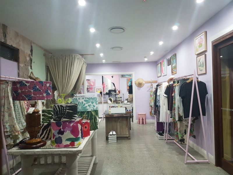 Funky Shop in The Busiest Part of Town