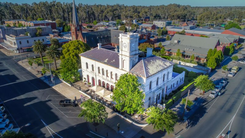 """Own a piece of the Iconic """"Old Echuca Post Office Circa 1875"""""""