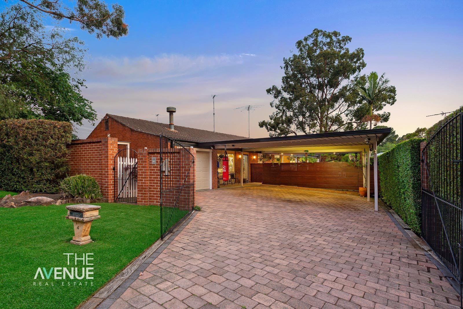 4 Mediati Avenue, Kellyville NSW 2155