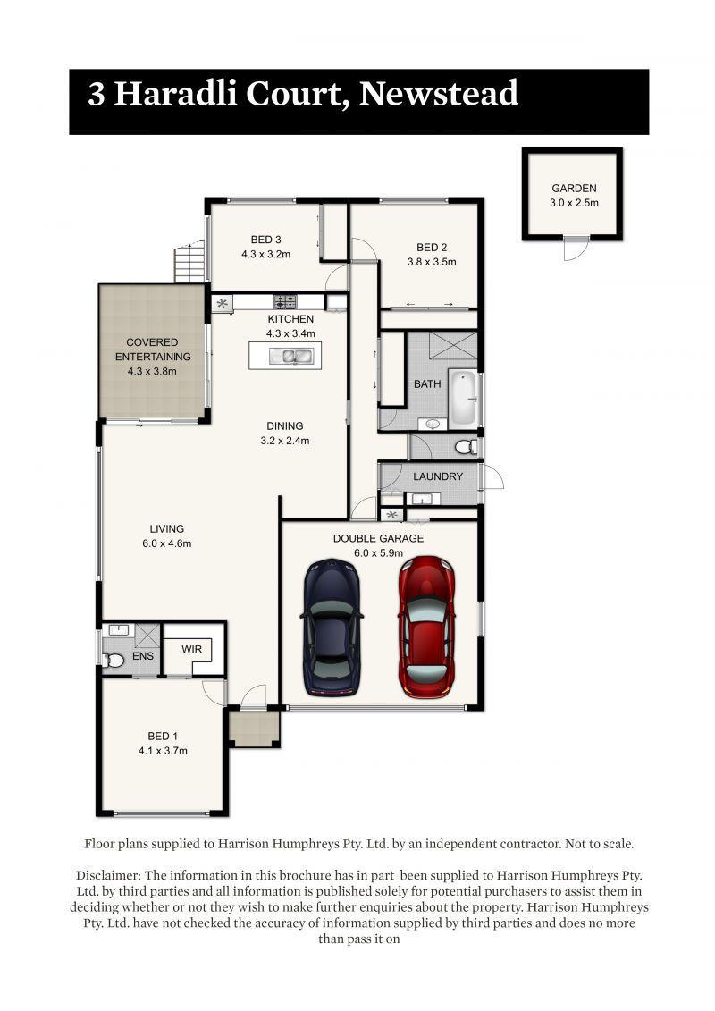 3 Haradli Court Floorplan
