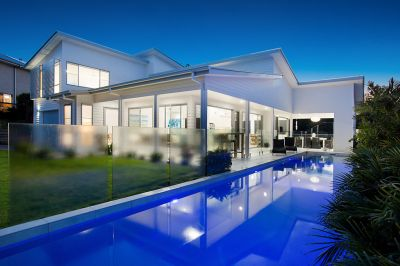 STUNNING NEW HOME IS THE PINNACLE OF GOLD COAST LIVING