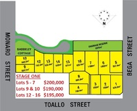 Lot 1-16 Corner of Monaro Street, Toallo Street and Bega Street Pambula, Nsw