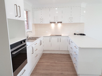 1 of only 2 available - 2 bedroom units with a garage and completely refurbished to an exceptional standard